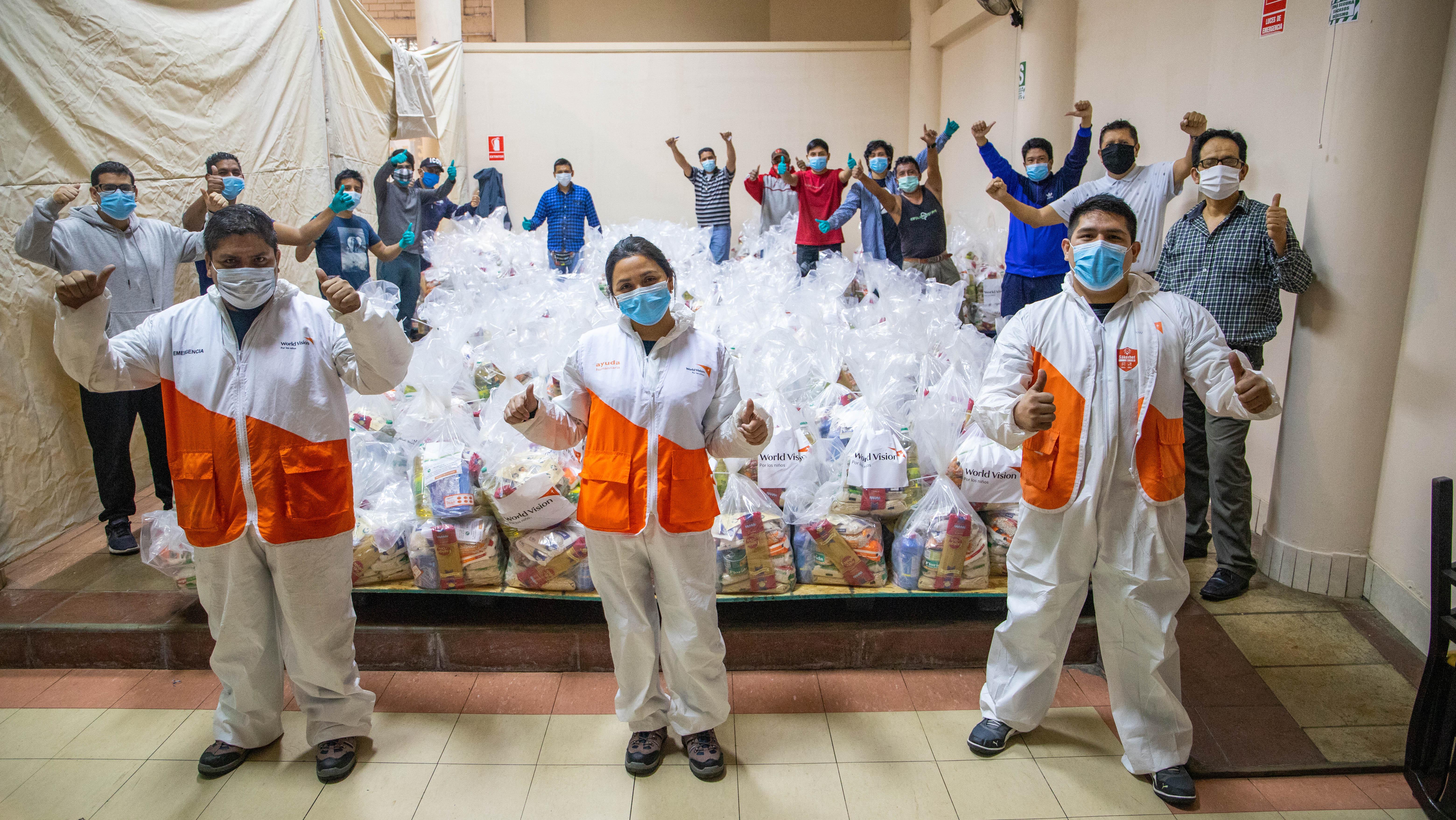 Donaciones World Vision Perú